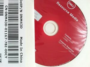 Dell Resource Media Latitude 7280 7480 Device Drivers Utilities *NEW SEALED *