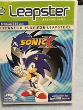Sonic X (Leapster, 2005) K-1st Grade 5-7 Years FREE SHIPPING