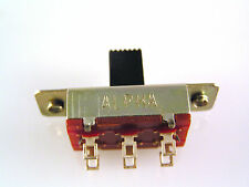 Slide Switch Double Pole Double Throw 3 Position On/Off/On  SSW3CO OM0548
