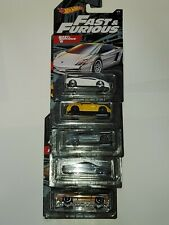 HOT WHEELS FAST AND FURIOUS FIVE CAR SET 2019