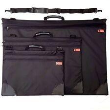 Jakar Art Folder Case Black Portfolio Water Resistant Double Zip Carry Strap Bag