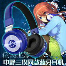Anime The Quintessential Quintuplets Nakano Miku Headset Headphone Earphone Gift