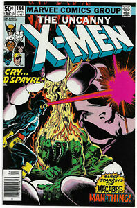 UNCANNY X-MEN#144 VF/NM 1981 MARVEL BRONZE AGE COMICS