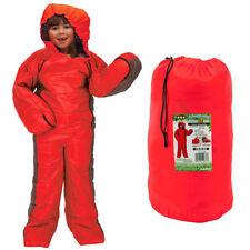 Childs 155cm Summit Motion Sac Wearable 3 Season Sleeping Bag - KIDS RED