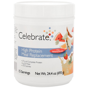 Celebrate Vitamins - High Protein Meal Replacement Protein Powder