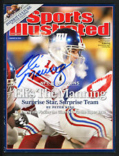Eli Manning Autographed Signed Sports Illustrated Giants No Label Beckett S76562
