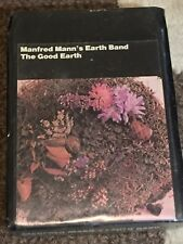 Manfred Mann's Earth Band The Good Earth SEALED 8 TRACK SUPER RARE