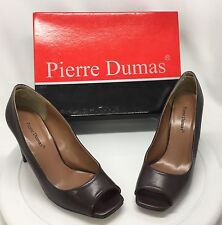 Pierre Dumas Bertita Brown Shoes Womens Size 8.5 M