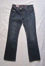 Women's BEN SHERMAN Medium Dark Blue Wash Denim Jeans ~ Size W29 / L32