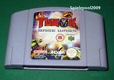 turok Rage Wars UK PAL UNCUT fuer Nintendo 64 N64 AB 18