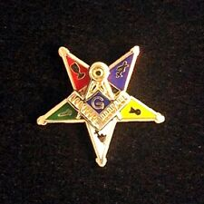 Eastern Star Past Patron Lapel Pin - Style 2 (E2-PP)