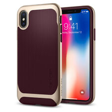 Spigen® For Apple iPhone X [Neo Hybrid] Shockproof Case TPU Bumper Slim Cover