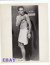Paul Newman barechested The Prize VINTAGE Photo