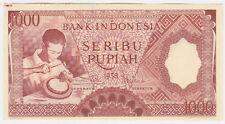 Indonesia P 61 - 1000 Rupiah 1958 - aUNC