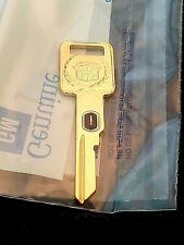Rare Cadillac Gold Key - #6 VATS Ignition key for Brougham, Fltwd, Eldo, & Sev