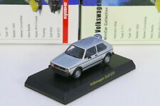 Kyosho 1/64 VW Golf GTI Silver Volkswagen Miniature car Collection 2008