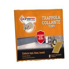 Trappola Collante Topi Bisce Insetti Pronto Uso 2 Pz 14x19 cm