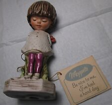 Vintage Moppets BE NICE TO ME Figurine 1971 Fran Mar Gorham Collectible mid cent