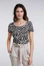 REDUZIERT!!! Shirt Zebraprint, Marke: oui, 100% Baumwolle, Gr. 38