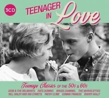 Various Artists - Teenager In Love - 3xCD Digipak (2018) - NEW and SEALED