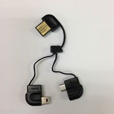 USB to Micro & Mini USB SYNC & Charge Short Cable 4 Smart Phones - New