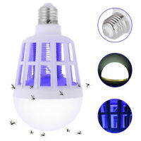 2 in 1 Mosquito Killer Light Fly Bug Zapper LED Bulb Bug Fly Insect Bulb Lamp