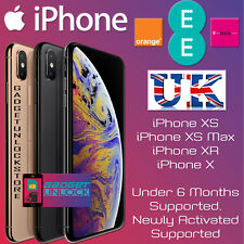 UNLOCK CODE SERVICE FOR iPhone XS, iPhone XS MAX, iPhone XR X  EE VODAFONE UK