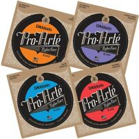 D'Addario Pro-Arte Nylon Classical Guitar Strings Extra Hard Hard Light Normal
