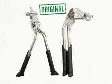 "Bicycle Bike Adjustable Double Leg Kickstand 24"" 26""28"" Heavy Duty Silver 56 D"