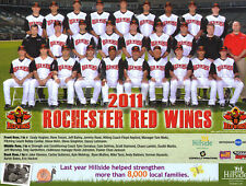 2011 Rochester Red Wings team photo picture 8.5 X by 11