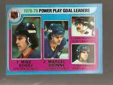 1979 Topps Power Play Goal Leaders #5 (Buy 5 $3.00 Cards Pick 2 Free)