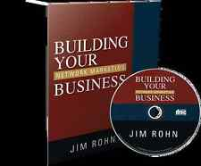 LOT OF 10 - Jim Rohn Audio CD Building Your Network Marketing Business Brand NEW