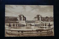 Paris Et Ses Merveilles Le Palais de Chaillot vu des jardins RP GUY Postcard