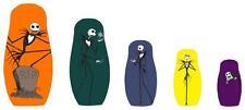 Nightmare Before Christmas Nesting Dolls (set of five)