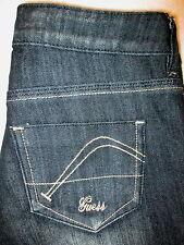 GUESS Jeans Marina Skinny StretchJuniors Womens Black Denim Jeans Sz 24 x 32