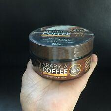 Body Scrub Arabica Coffee & Salt Mix Reduce Roughness Skin Smoothen 200g x1