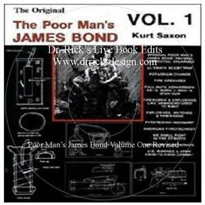 Poor Mans James Bond 1 Revised Live Book Edit CD