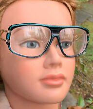 Vintage Neostyle Iridescent Gold 58-14-140 Eyeglass Frames Germany Eyewear Bx14