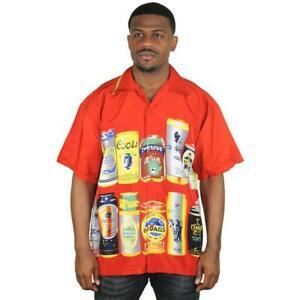 Moda Essentials Assorted Men's Short Sleeve Button Up Shirt