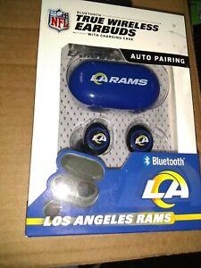 Los Angeles Rams TRUE WIRELESS EARBUDS + Charging Case  (all smart phones tablet