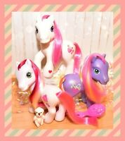 ❤️My Little Pony MLP G3 Strawberry Swirl Bumbleberry Strawberry Surprise Lot❤️