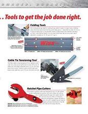 "Wiss WRPCMD Ratchet Pipe Cutter, Medium, cuts 1/4"" - 7/8"" Pipe Diameter"