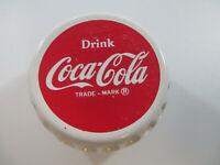 Coca-Cola Vintage 1060s White Bottle Cap Yo-Yo Drink Coca-Cola