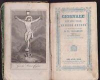 1855  GIORNALE DI UN'ANIMA AMANTE DI GESU' CRISTO RELIGIONE SPIRITUALITA'