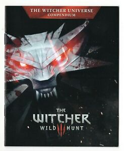 The Witcher III 3: Wild Hunt The Witcher Universe Compendium Booklet Manual Only