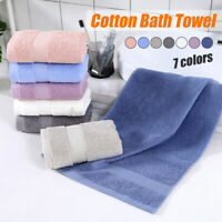 1pc 100% Cotton Bath Towel Face Care Hand Cloth Soft Towel Bathroom for Adult AU