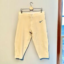 Nike Football Pants Size L Never Worn Mens Ivory White Cool Length 22 Large