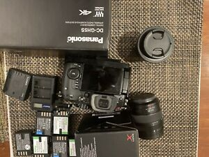 Panasonic LUMIX GH5s 10.2MP Mirrorless Camera - Black With Accessories