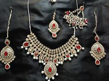 Indian Asian Suit Bridal Salwar Shalwar Kameez Bridal Jewellery Lehenga Lengha