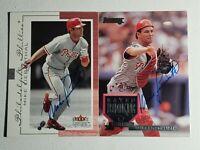 Mike Lieberthal 1995 Donruss 2001 Fleer Genuine Autograph Card Phillies Auto Lot